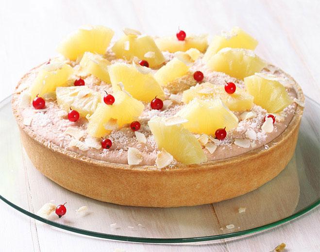 Pineapple Angel Food Cake