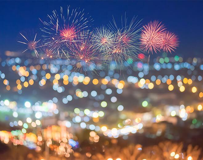 fireworks-family