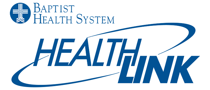 Baptist Health System Healthlink Logo